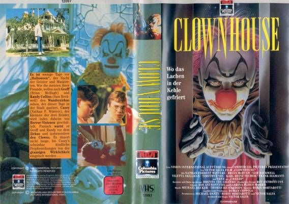 "CLOWNHOUSE (""VISION PDG INTERNATIONAL"", 1989), PAL VHS, ""RCA COLUMBIA PICTURES INTERNATIONAL VIDEO"", ""Duitsland Europese Unie"", ""Brexit video"", Scorpio, Mercury in Capricorn horoscope, Pisces, Aries, Leo, ""sidereal astrology"", ""nouvelle vague"", ""Jean Luc GODARD"", ""Anna KARINA"", ""Anne WIAZEMSKY"", ""Winona RYDER"", ""Asia ARGENTO"", ""indie girl"", feminisme, ""gothic laarzen"", occultisme, naakte, ""rood haar"", ""Renault Safrane"", ""Nissan Maxima QX"", ""Mitsubishi Sigma"", €, ""De Sims 2"", VoVillia & sedan"