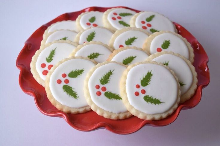 It's a holly jolly Christmas 🎄 #melissagracedesserts #dessert #cookies #baking #food #yummy #christmas #holly
