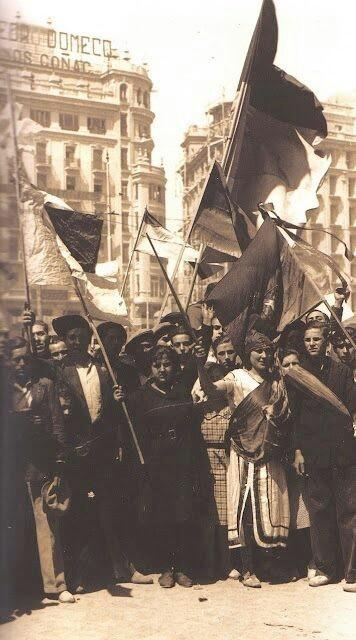 14 de ABRIL de 1931.Proclamacion de la II Republica.Valencia