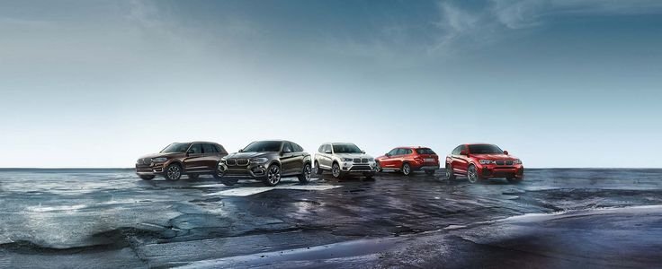 Conquer the city streets or traverse a rugged trail with a BMW X Model. The BMW Sports Activity Sales Event 2015