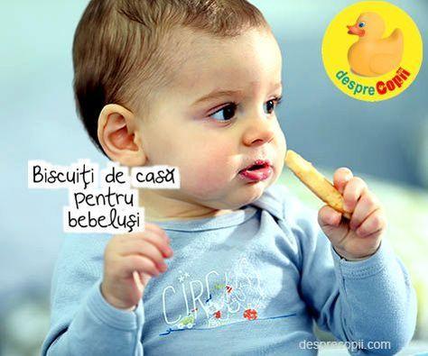 Biscuiti de casa pentru bebelusi: 3 retete super sanatoase si usor de facut