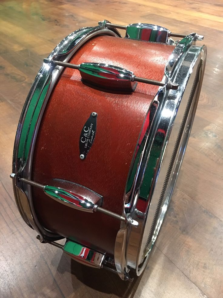 C&C Custom Drums Mahogany 14×6.5 ファットかつ粒立ちや抜けも十分!サウンドスタジオノア中野店 03-5318-4110 #drum #music #studionoah #ドラム #スネア #C&C