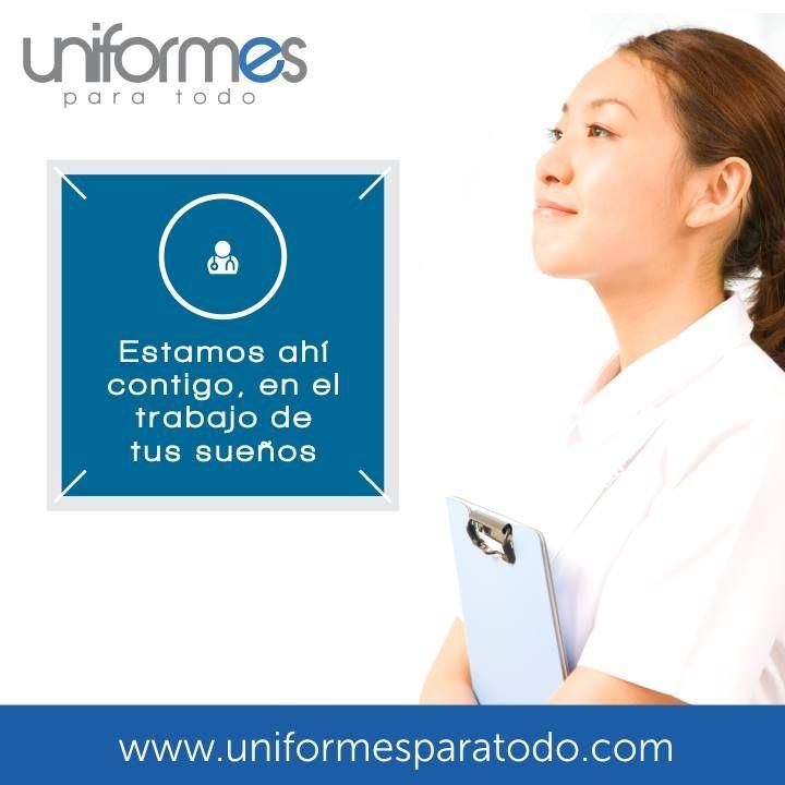 ¡Te acompañamos en cada reto nuevo! #UniformesparaTodo #Colombia #Uniformes #Empresas #SueñosRealizados www.uniformesparatodo.com