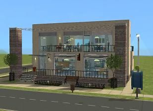 Mod The Sims - Avery's Cafe/Restaurant- No CC