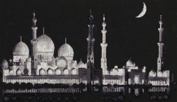 Мечеть шейха Заида  Схема вышивки