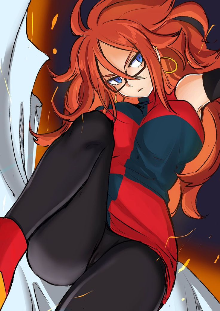 Dragon ball android 21 rule 34hentai
