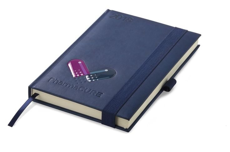 Debossed diaries, foiled diaries, branded diaries. 2018 diaries.  Best Branding diary specialists. Wide variety of Diaries available. Personalised diaries, photo diaries, etc.  Advantage A5 Diary  DIARY-006 Available in Black, Grey and navy. PU • 21.3 ( l ) x 14.7 ( w ) x 2.4 ( h ) • 336 pages Features: • Personal Information Page • Emergency Contact Numbers • Calendars- 2017 / 2018 / 2019 • Southern African Public Holidays 2018 • Environmental Calendar and Religious Holy Days • Academic…