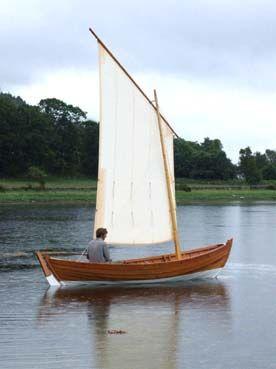 Standing Lug Rig Boats Boat Boat Design Wooden Boats