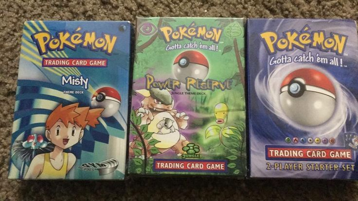 Added some new pokemon theme decks to my collection!!