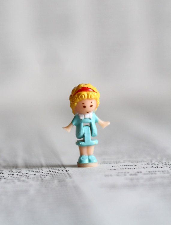 The Perfect Polly Pocket  - vintage Polly Pocket by UtterMabness