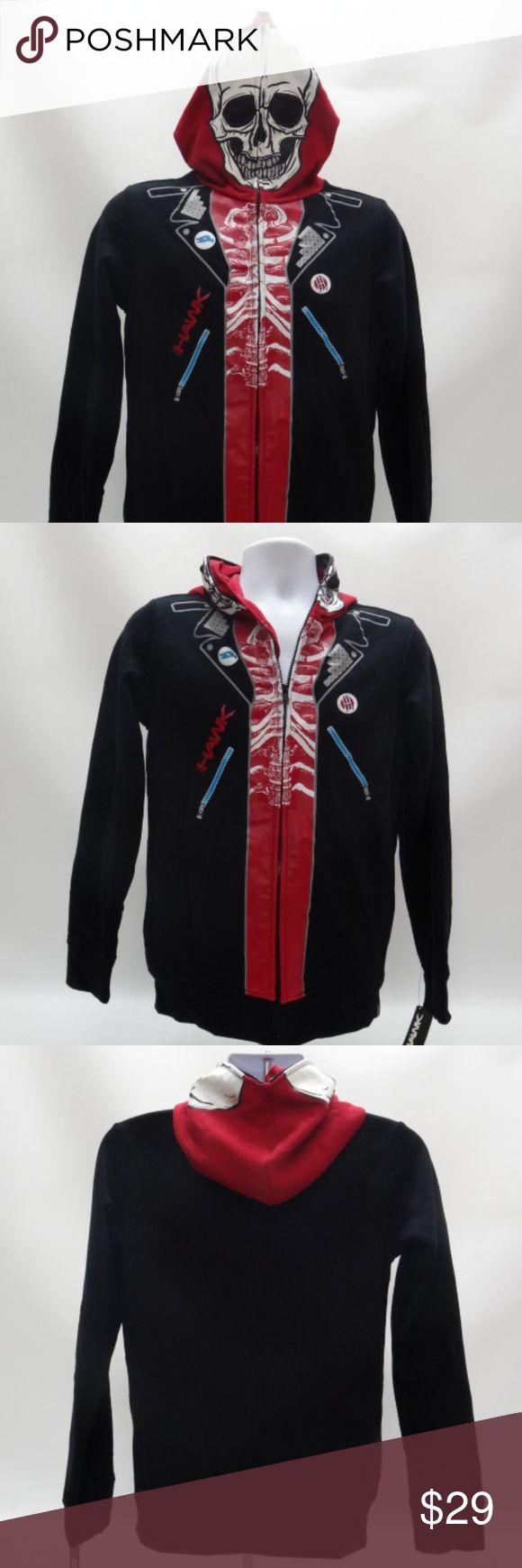 Spotted while shopping on Poshmark: Tony Hawk Creeper Black Zippered Hoodie! #poshmark #fashion #shopping #style #Tony Hawk #Other