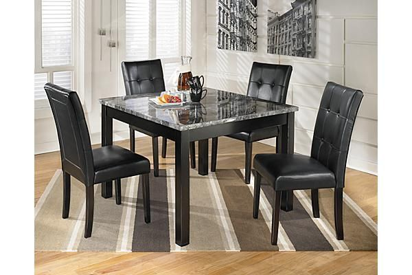 The Maysville Dining Room Table and Chairs (Set of 5) from