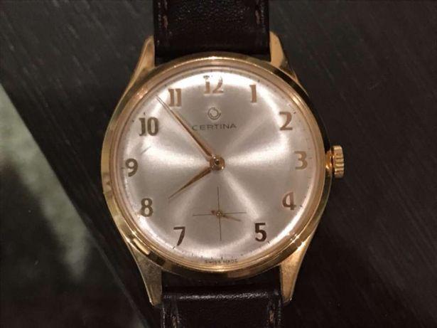 200730b1ab6 120 €  Vendo relógio de pulso mecânico antigo marca Certina. Foi feita uma  revisão