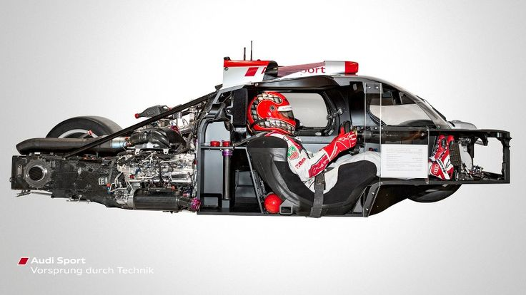 Looking under the skin of the 2013 World Endurance Champion and Le Mans winner - the Audi R18 e-tron quattro
