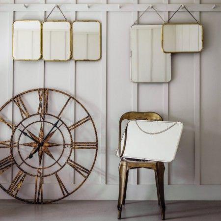 Carriage Mirrors in Silver or Gold - View All Mirrors - Mirrors - Lighting & Mirrors
