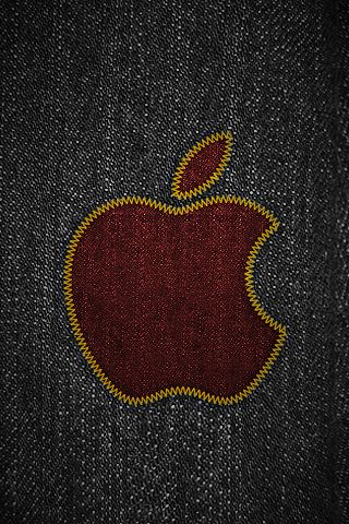 iPhone 3 Wallpaper - Apple, Black, Computers, Jeans, Logos, Mac