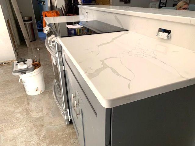 Beautiful Custom Made Kitchen Island Bar Countertop Made By