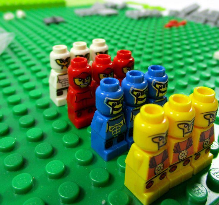 LEGO Minotaurus Game (3841) Item 4568196 12 Microfigures Dice Rulebook Instr. #Lego