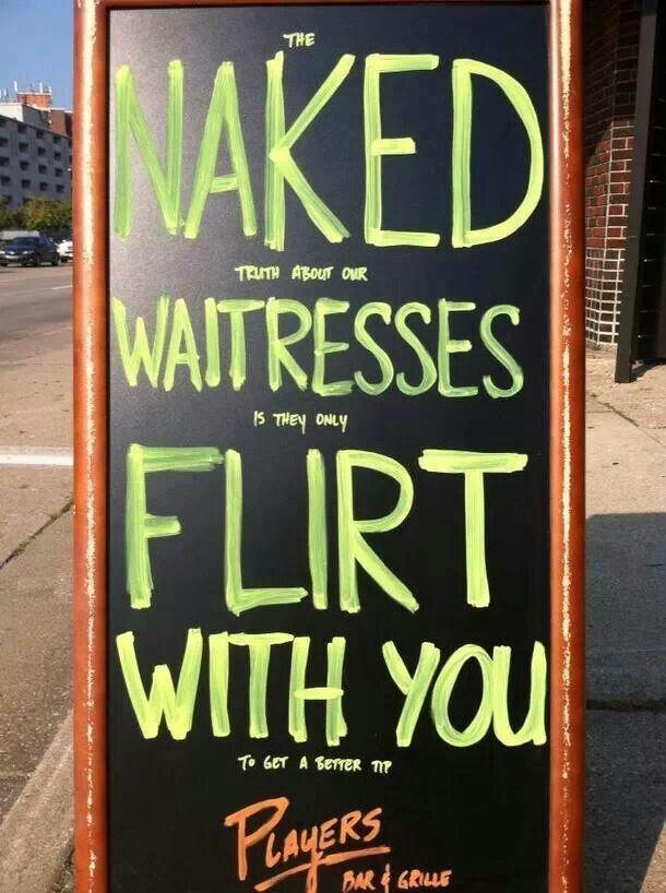 Offensives flirten