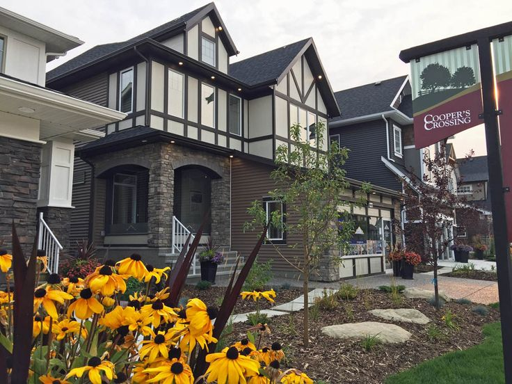 2017 Single Family Front Drive Showhome in Cooper's Crossing by NuVista Homes #coopersairdrie