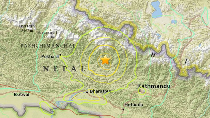 india earthquake 2015 nepal | Massive Magnitude-7.9 Earthquake Hits Nepal; Widespread Damage and ...