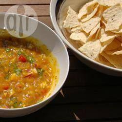 Foto de la receta: Salsa de mango con habaneros
