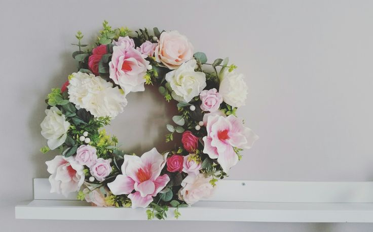 #flowers #wreath #homedecor #handmade