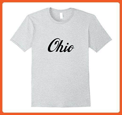 Mens Ohio OH State Home Retro T-shirt 2XL Heather Grey - Retro shirts (*Partner-Link)