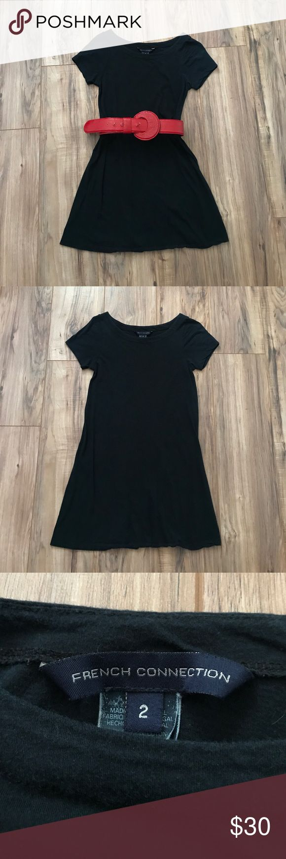 French Connection Little Black Dress Little black dress from French Connection. Size 2. Looks great with a bold belt or colorful necklace to add a pop of color. French Connection Dresses