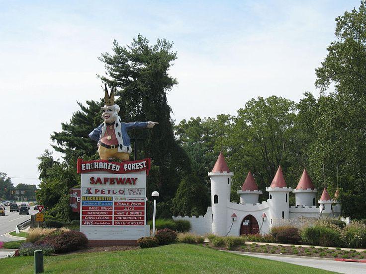 The Enchanted Forest, Ellicott City, Maryland http://www.theenchantedforest.ellicottcity.net/