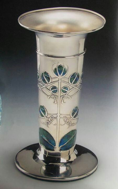 Archibald Knox Vase for Liberty & Co