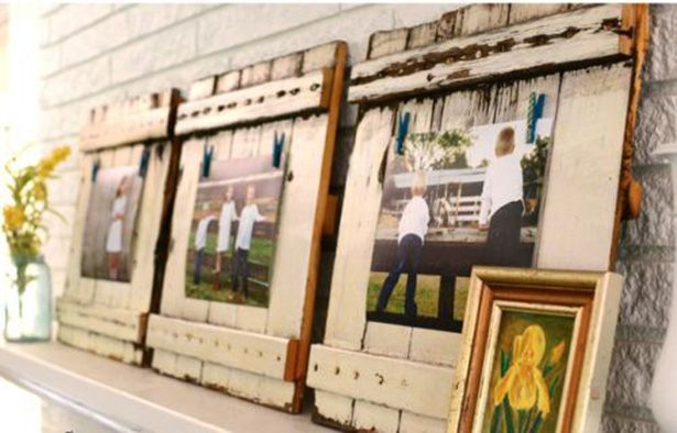 Pinterest do it yourself awesome do it yourself projects for Shabby chic frames diy