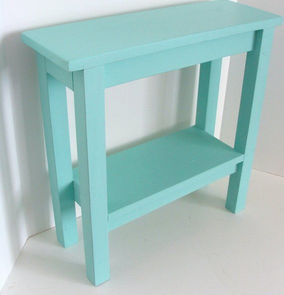 End Table Narrow Side Table Chairside Tables Wood Table Night