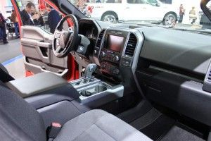 2015 Ford Excursion interior