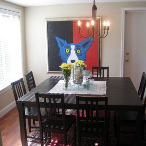 Small Dining Room Large Table