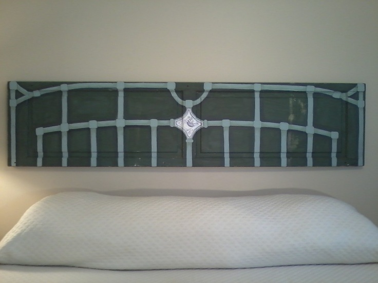 107 best Upcycled Headboard images on Pinterest   Homes, Bedroom ...