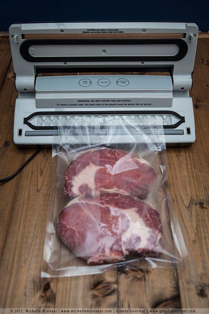 Vacuum Sealing Steaks