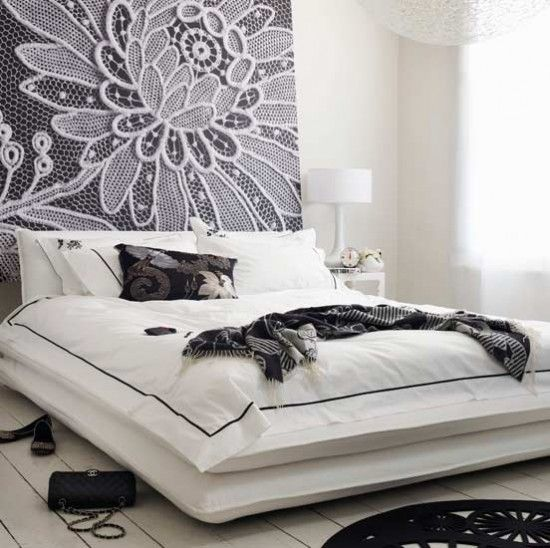 Flower-Power-Schlafzimmer Wohnideen Living Ideas