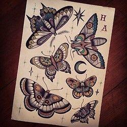 Flash by tattoo apprentice @hollyjadeashby