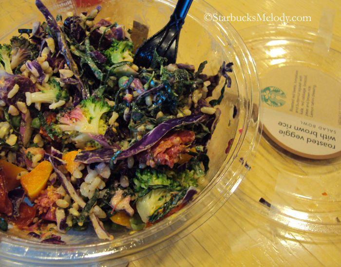 Starbucks, Salads and Veggies on Pinterest