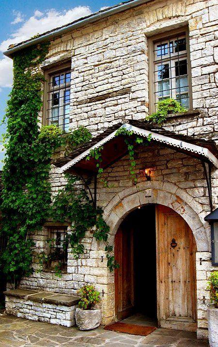 Traditional House in Papigo village, Epirus