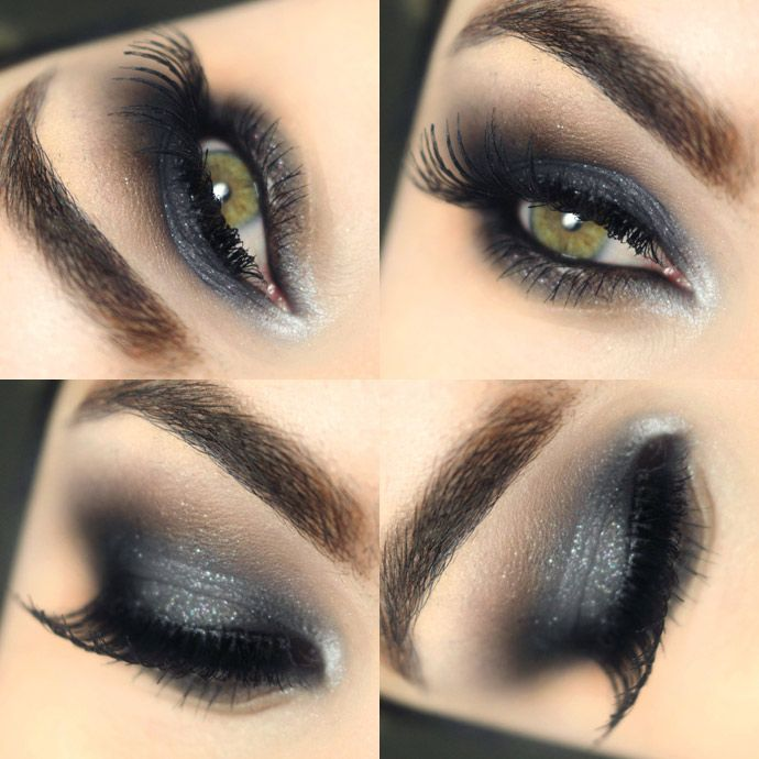 Sombra cinza cremosa para um Smokey Eyes fácil