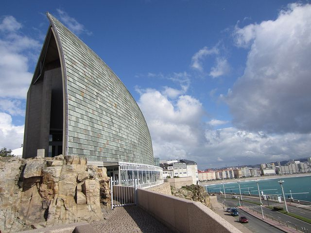 Domus Museum, Arata Isozaki. A Coruña, Spain.