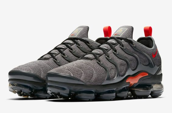 414375a7339 Coming Soon: Nike Air Vapormax Plus Grey Red Another colorway of the Nike  Air Vapormax
