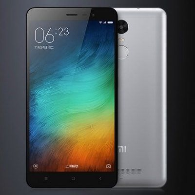 XIAOMI REDMI Note 3 - 5.5 inch Android 5.0 4G Phablet - GRAY
