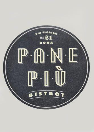 Pane Più - Paninoteche - design by RPM Proget