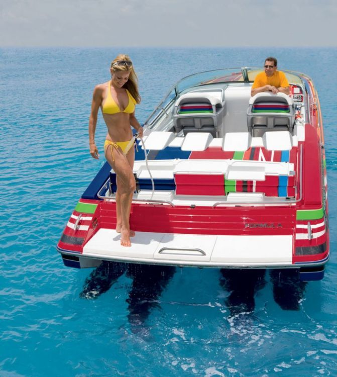 fast boats and beautiful women