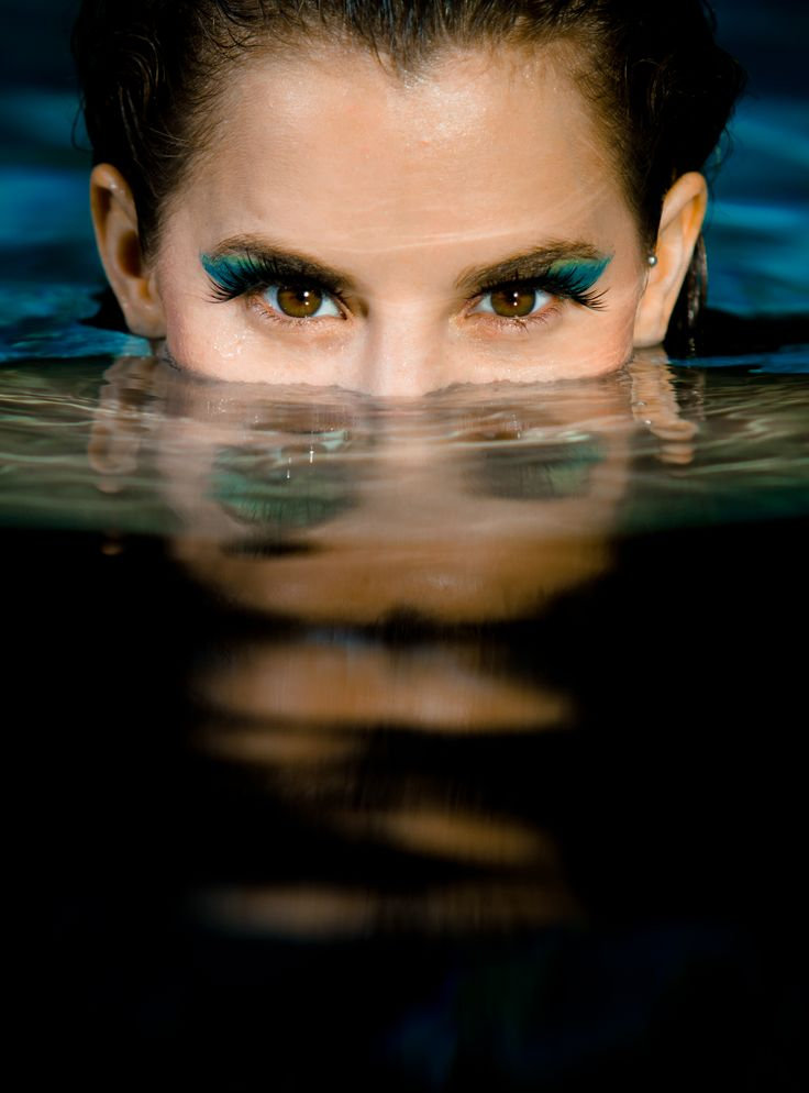 Eyes and water