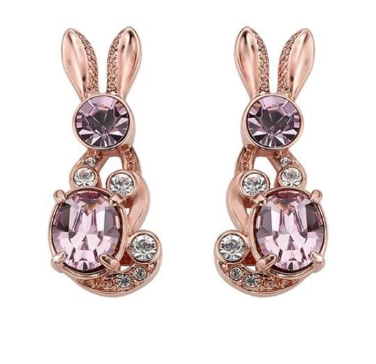 Crystal Bunny Love Stud Earrings from #AW15 #BUNNYLOVE collection. #comingsoon #MAWI #MawiRocks #Swarovski