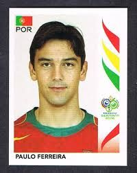 Image result for germany 2006 panini portugal ferreira